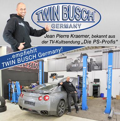 Elevator auto cu 2 coloane Twin Busch Romania