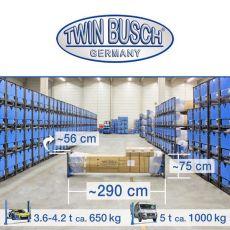 Elevator cu 2 coloane 5 tone - electromagnetic - TW250