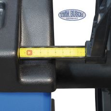 Masina de echilibrat roti semi automata TW F-150