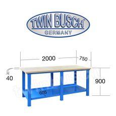 Banc profesional de lucru - 2m - TW 8057